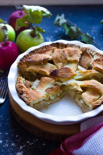 Gluten Free Brown Butter Apple Pie