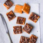 milk toffee with pumpkin and chocolate,pumpkin fudge