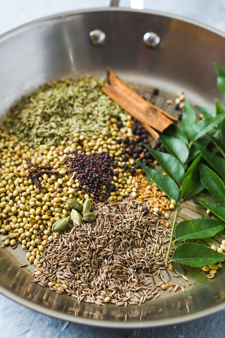 Sri Lankan Roasted Curry Powder spices