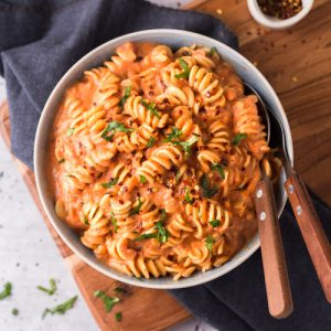 roasted vegetable and tomato pasta sauce